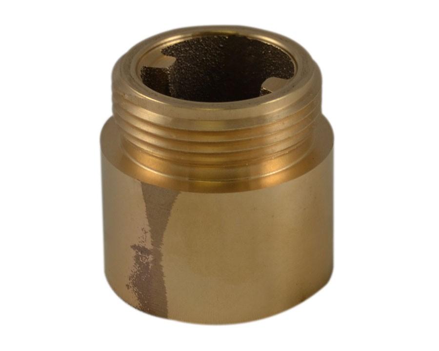 IL35, 1.25 National Pipe Thread Female X 1.5 Customer Thread Male Brass, Internal Lug Bushing