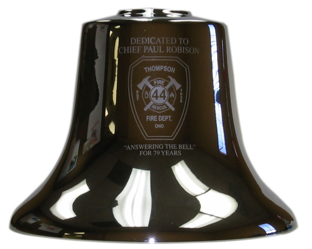 FB12, Etching One Side per Customer Specifications, Fire Bell