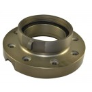 BVF, 5 Butterfly Valve  Female Flange Only W/4 National Standard Thread (NST) Rockerlug Swivel