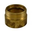 IL35, 2.5 National Pipe Thread Female X 2.5 Customer Thread Male Brass, Internal Lug Bushing