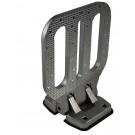 LFS46 Zinc Chrome Plated - Made to NFPA Standards, Large Folding Step
